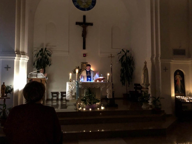 Рораты – Месса Пресвятой Деве Марии. 4.12.2018