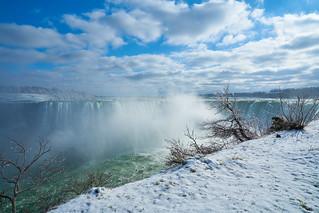Niagara Falls Winter Scene