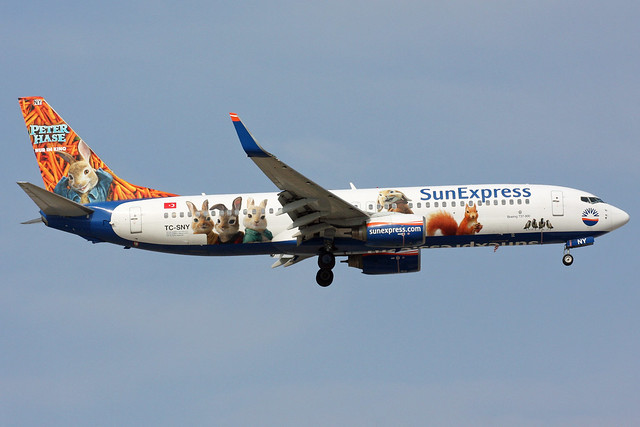 SunExpress B737-800, Canon EOS 40D, Canon EF 100-400mm f/4.5-5.6L IS II USM