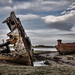 Fleetwood: wrecks by the River Wyre
