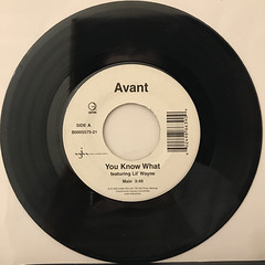 AVANT:YOU KNOW WHAT(RECORD SIDE-A)