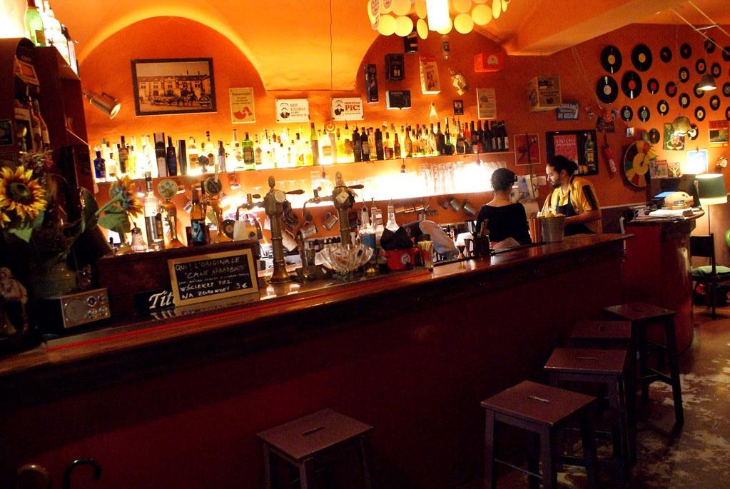 Bar Kowalski à Gênes, l'Europe de l'est en pays ligure