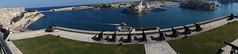 Grand Harbour from Upper Barrakka Gardens
