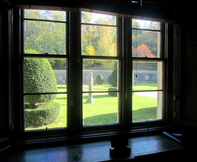 Abbotsford Garden from Study
