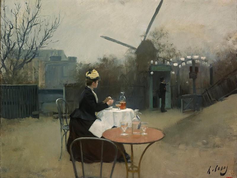 Ramon Casas - Plein air (c.1890)
