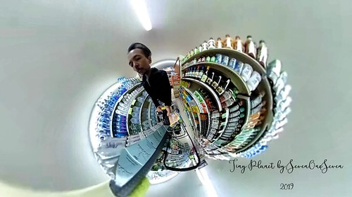 Grocery store - Tiny Planet