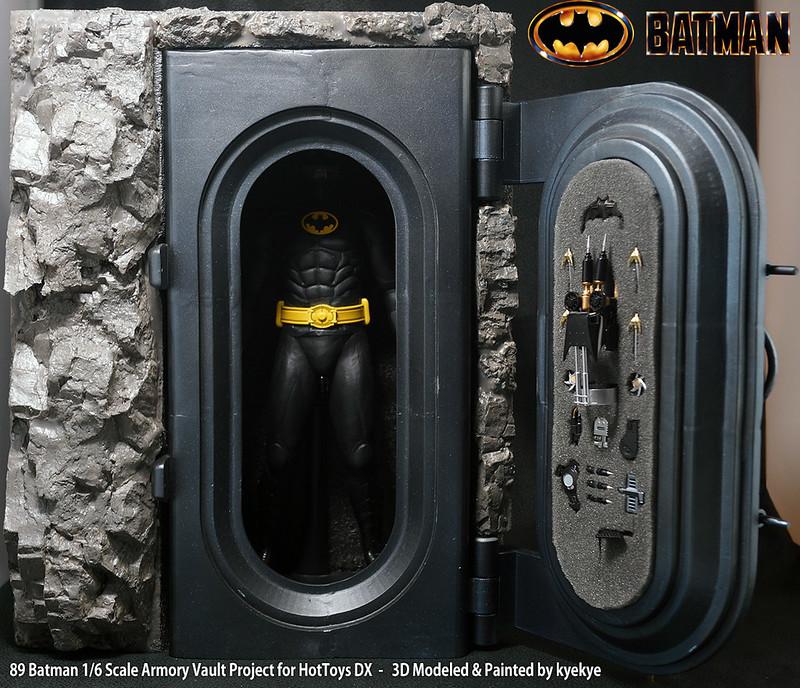 1/6 Scale 89 Batman Armory Custom (3D Print) 46109856334_7ae497f1d6_c