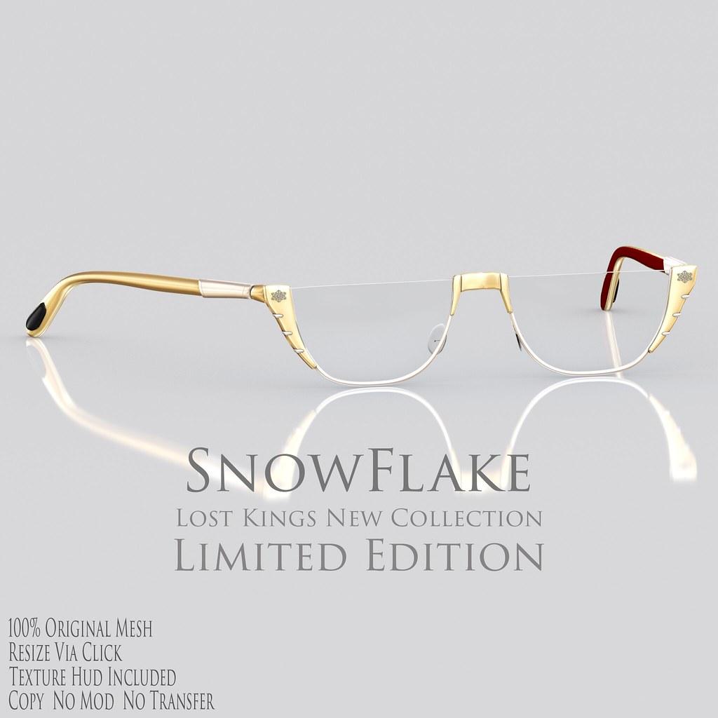 Lost Kings – SnowFlake Eyewear – Ad