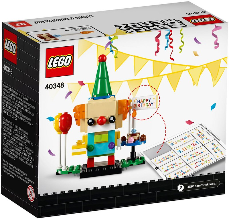 Birthday Clown (40348) 03