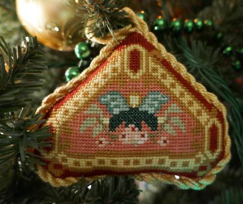 Needlepoint ornament, Monceau's work - Explore!