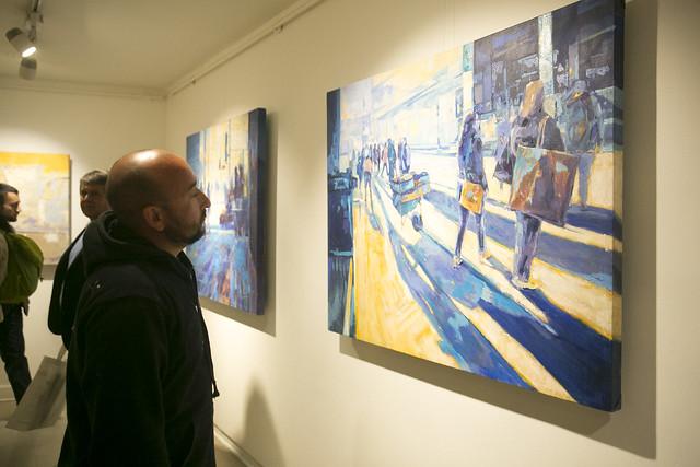 Exposición Puertodistopio de José Reyes