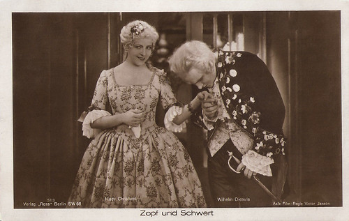 Mady Christians and Wilhelm Dieterle in Zopf und Schwert (1926)