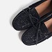Tendance Chaussures 2017/ 2018  : Image 4 of SPARKLY LEATHER LOAFERS from Zara