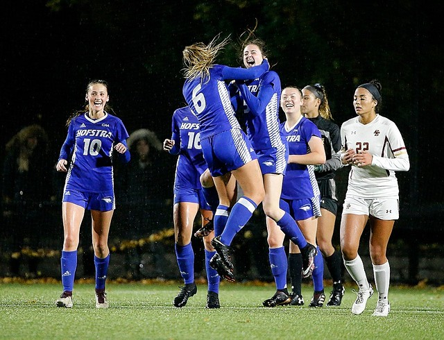 Women's Soccer defeats Boston College