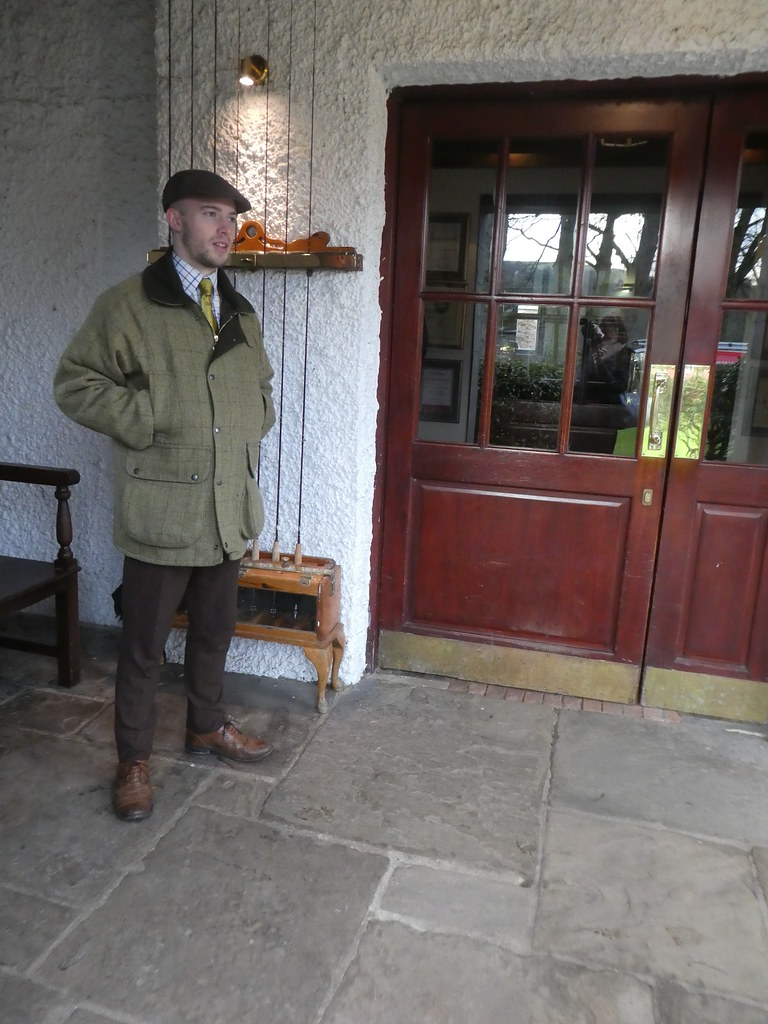 Andrew, the concierge at the Devonshire Arms Hotel, Bolton Abbey