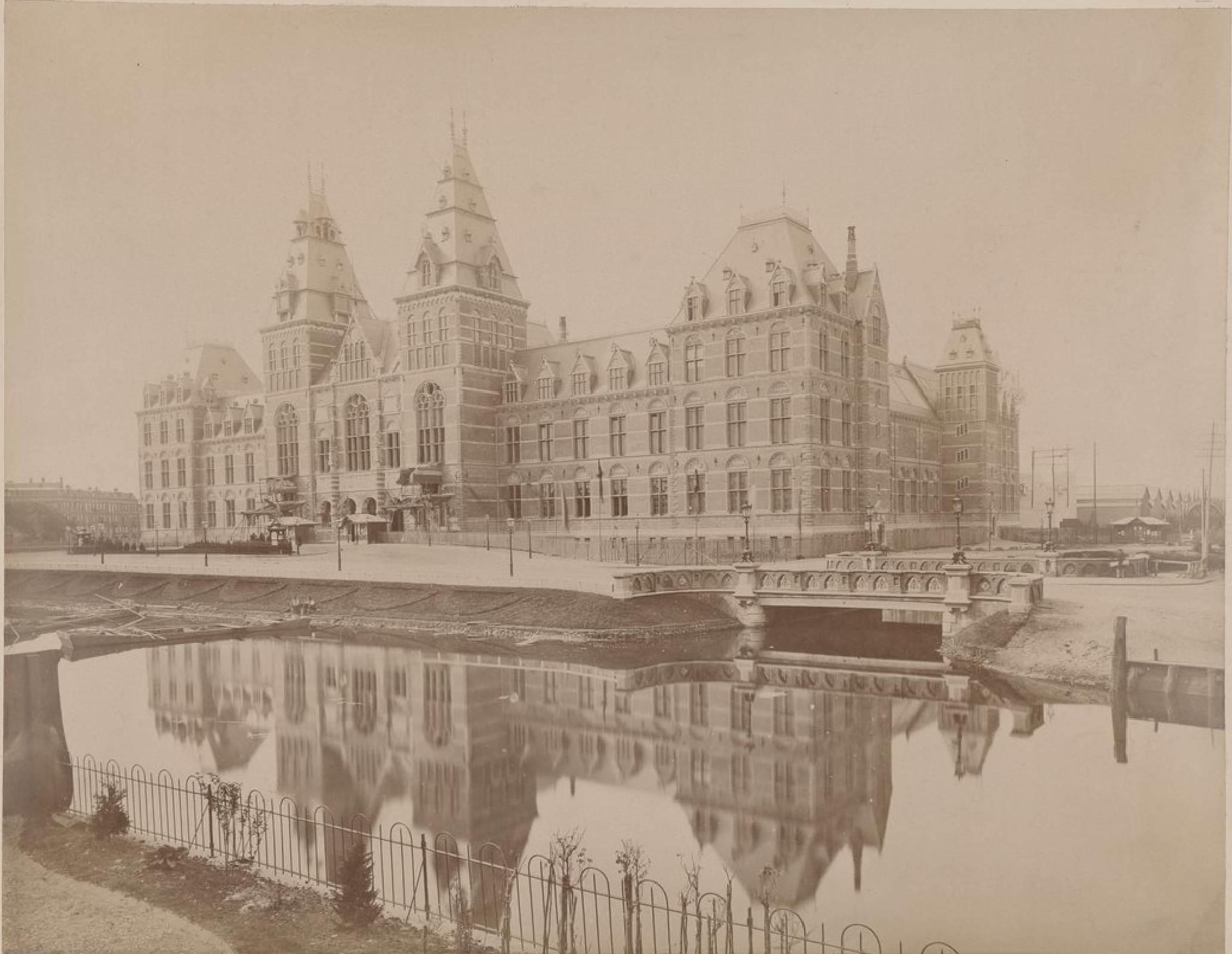 Амстердам. Музей, 15 мая 1888