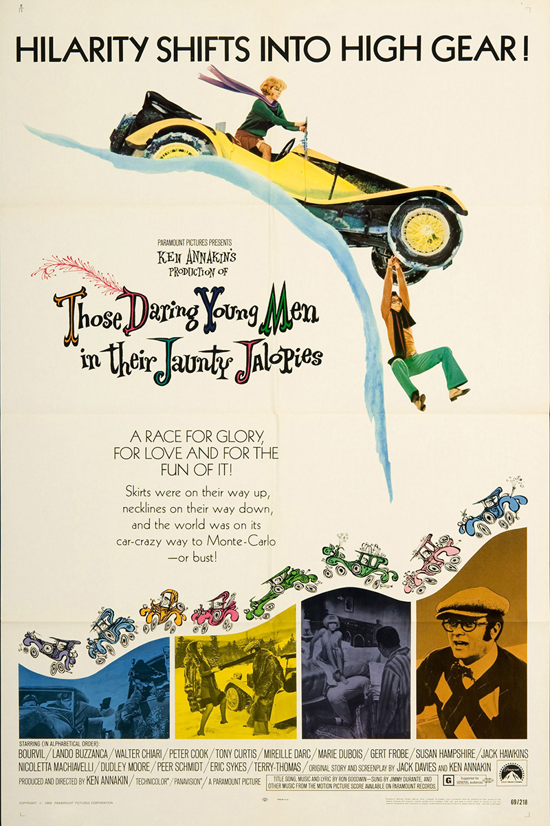 Those Daring Young Men in Their Jaunty Jalopies - movie poster