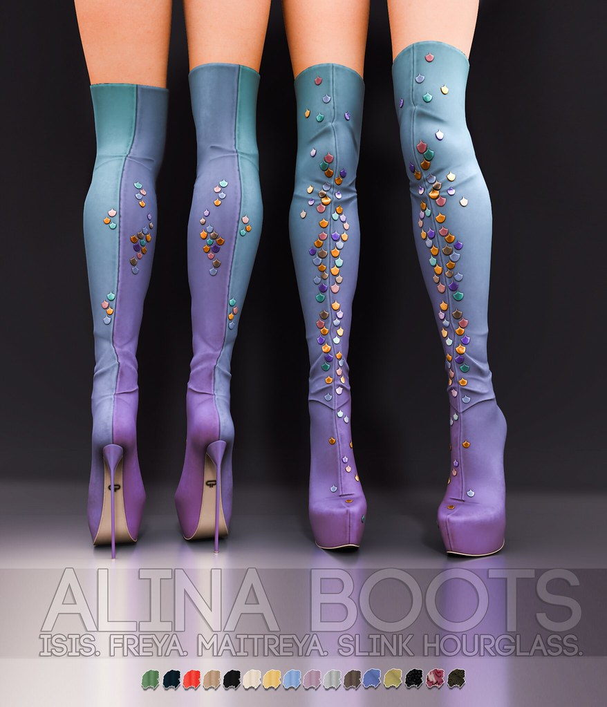 Pure Poison – Alina Boots AD