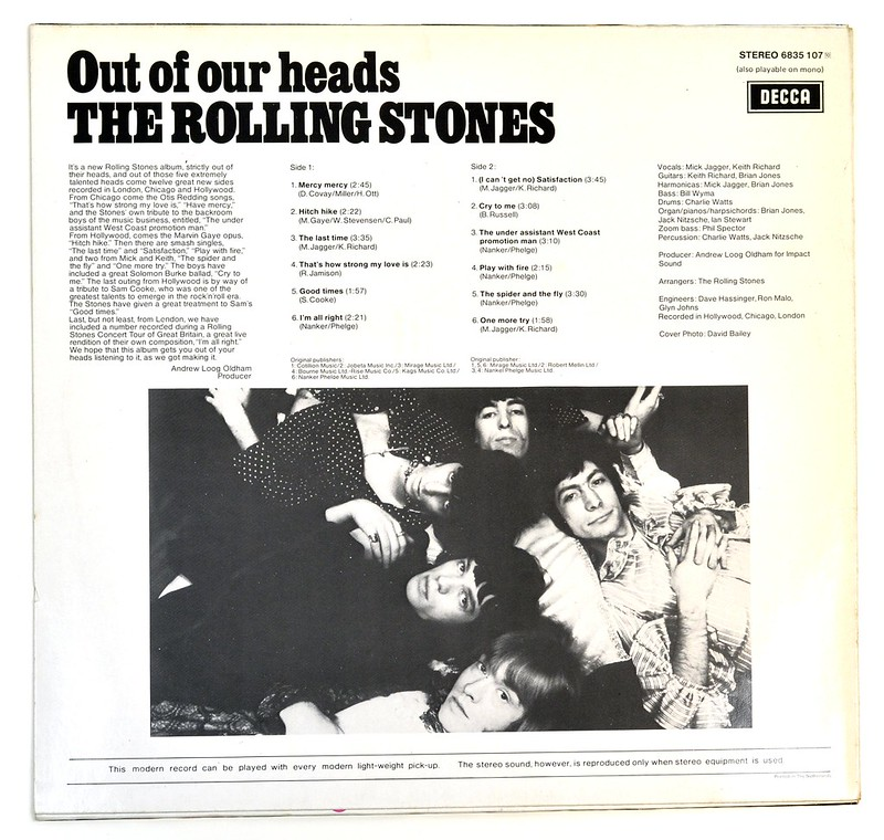 A0646 ROLLING STONES Out of our Heads (6835 107)