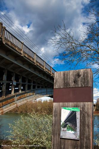 Le pont ferroviaire de Peyraud.