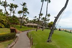 Ka'anapali beachwalk Maui, Hawaii
