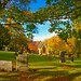 Blaydon Cemetery in Autumn
