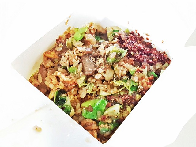 Shanghai Fried Rice With Braised Beef And Brussels Sprouts