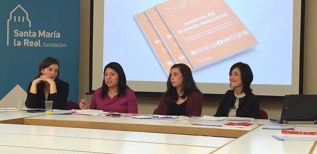 Presentación del Manual de Buenas Prácticas para la Inclusión del Enfoque de Género en los programas de Empleo y Emprendimiento