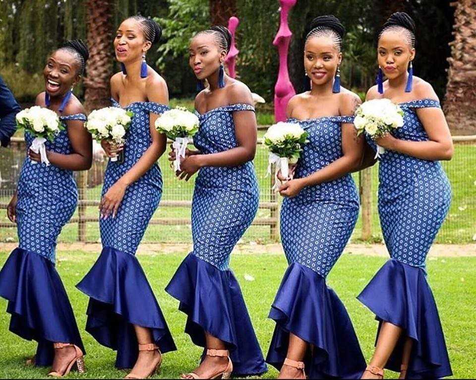 South African Traditional Dress Patterns 2019