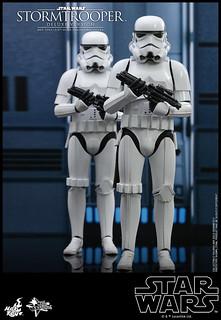 附屬可發光的死星內部背景板! Hot Toys - MMS515 -《星際大戰》帝國風暴兵 (豪華版) Stormtrooper (Deluxe Version) 1/6 比例人偶作品
