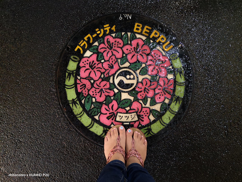 2018 Beppu Manhole Cover