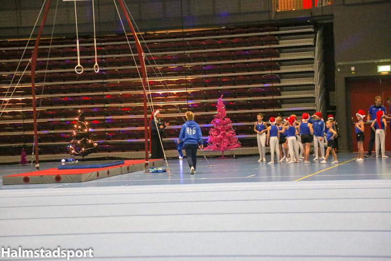 Halmstad Frigymnaster Julshow 2018