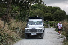 Tintagel: Landrover Service to and from the Castle