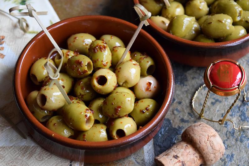Chilli Marinated Olives