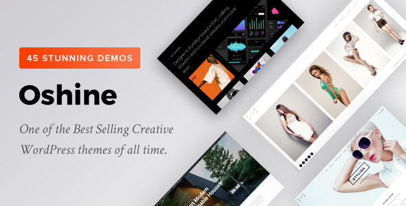 Oshine v6.8.5 - Creative Multi-Purpose WordPress Theme