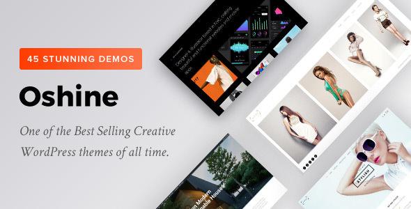 Oshine v6.6.2 - Multipurpose Creative Theme