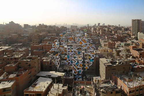 eL Seed, Perception, Cairo Egypt. Courtesy the artist