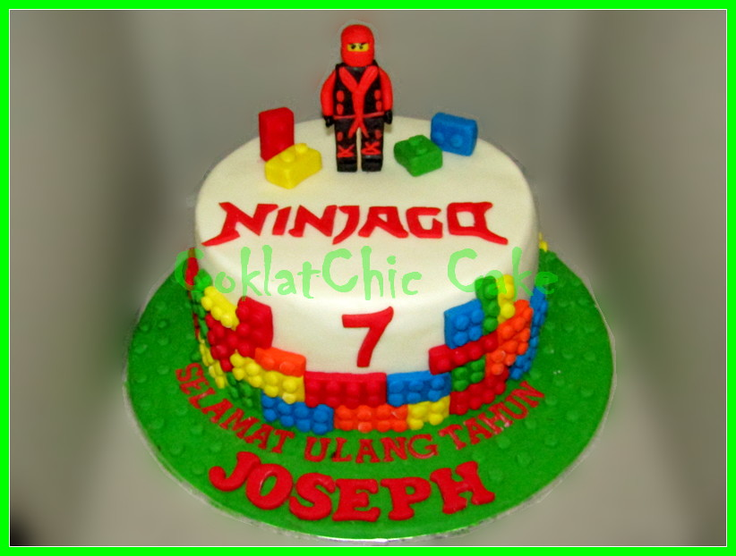 Cake Ninjago JOSEPH 22 cm