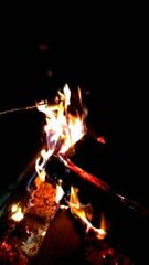 Slow motion marshmallow roasting | VIDEO