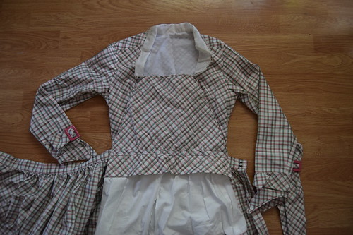 Plaid Dress Fastenings 4