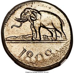 1808 Ceylon 96 Stivers obverse