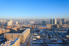 Novosibirsk in winter