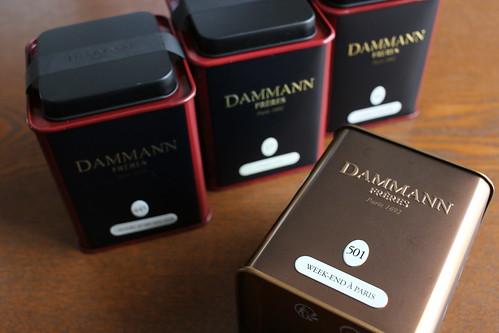 La Grande Epicerie de Parisで買い物(2) Dammann Freres