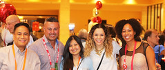 Early Career attendees at the ACRM reception