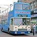 Derby City Transport: 142 (B142GAU) in Station Street, Burton on Trent