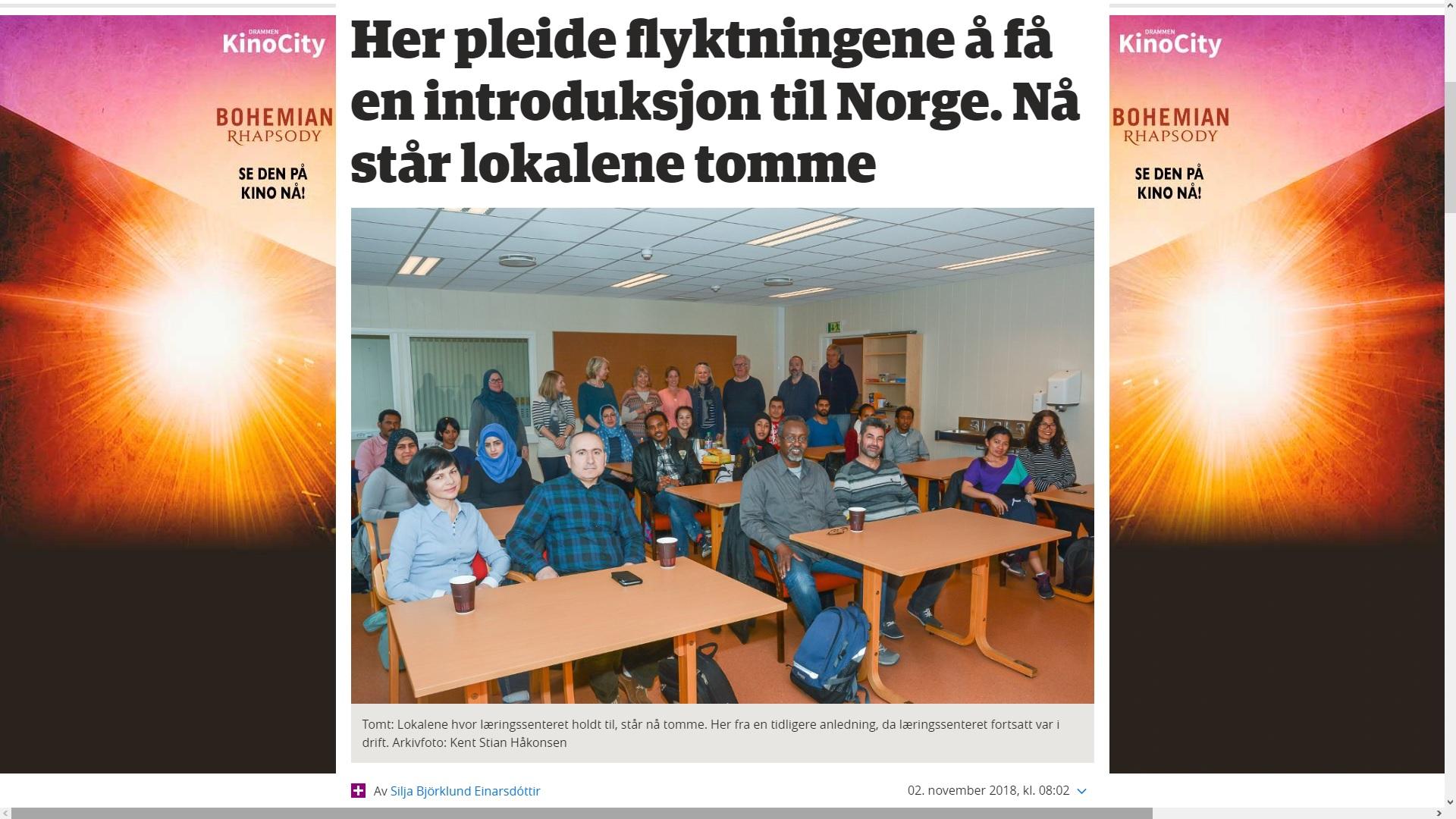 ba8ac351 Opplæring av flyktninger, er big business, i 'Ny-Norge'