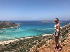 Abbie in Crete