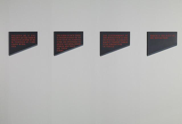 Four Blades by Ian Hamilton Finlay