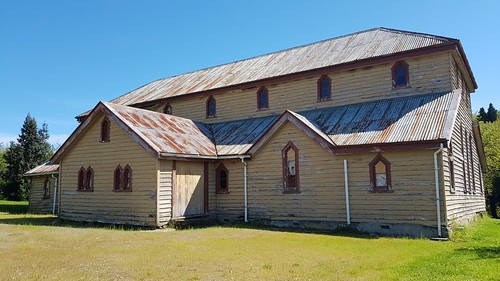 Old Anglican church - Lawrence, Central Otago, New Zealand