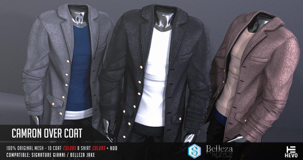 HEVO – Camron Over Coat